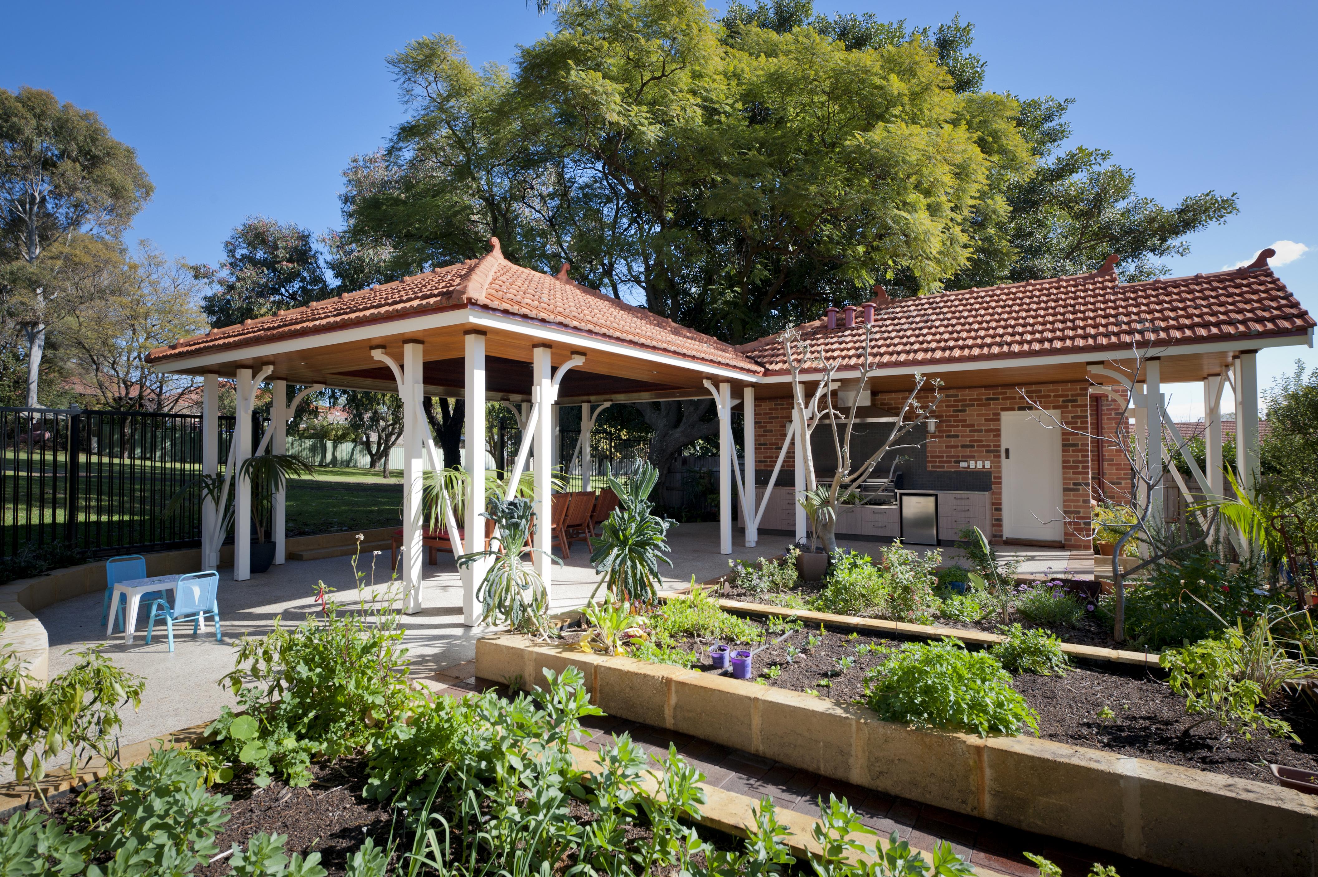 backyard planter boxes