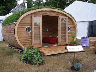 Green home tiny house