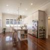 timber floors kitchen